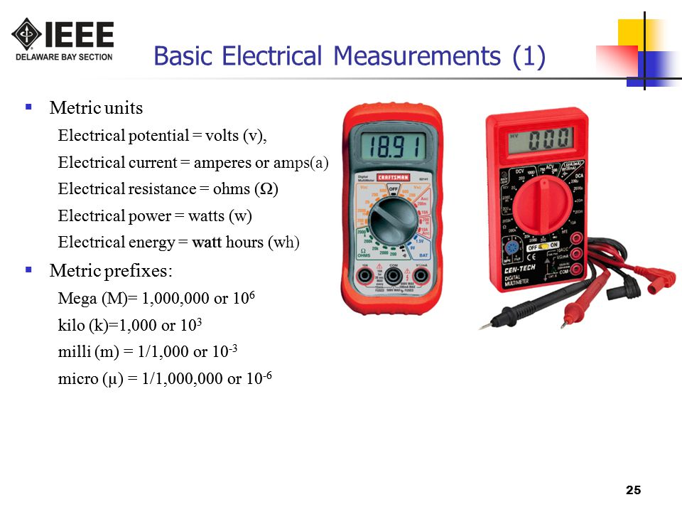 Basic Electrical Measurements (1)