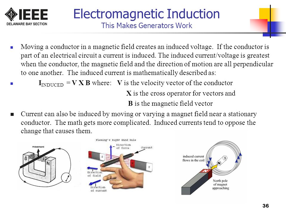 Electromagnetic Induction This Makes Generators Work