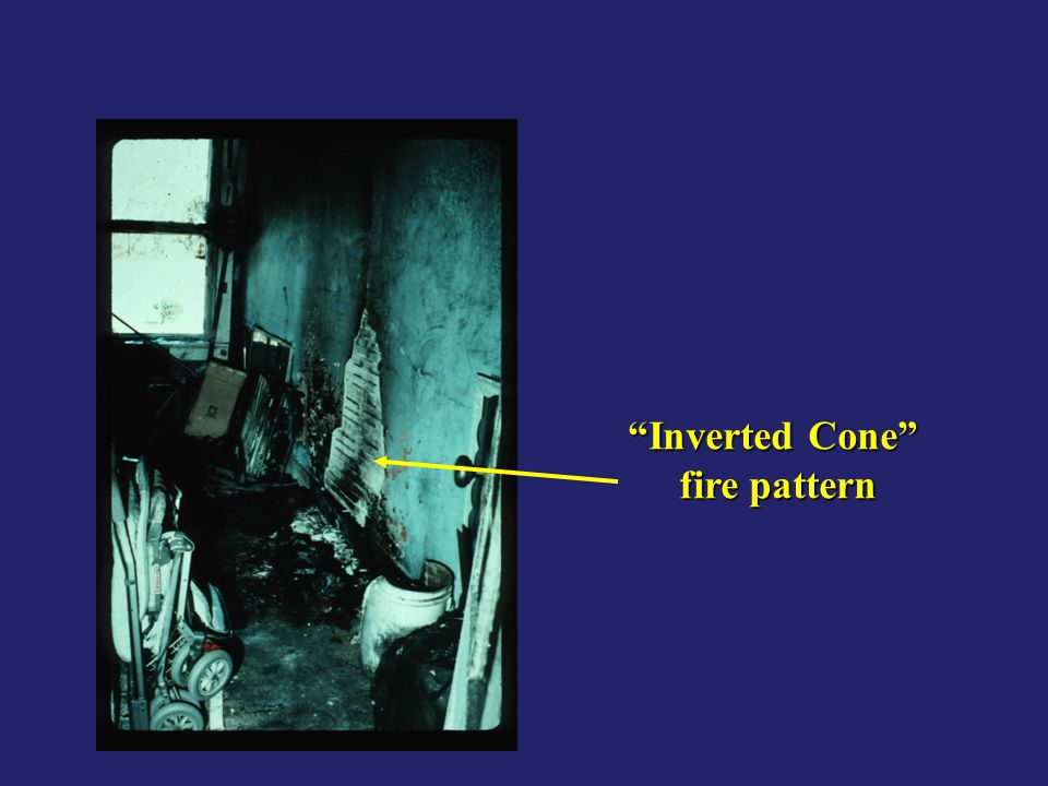 Inverted Cone fire pattern