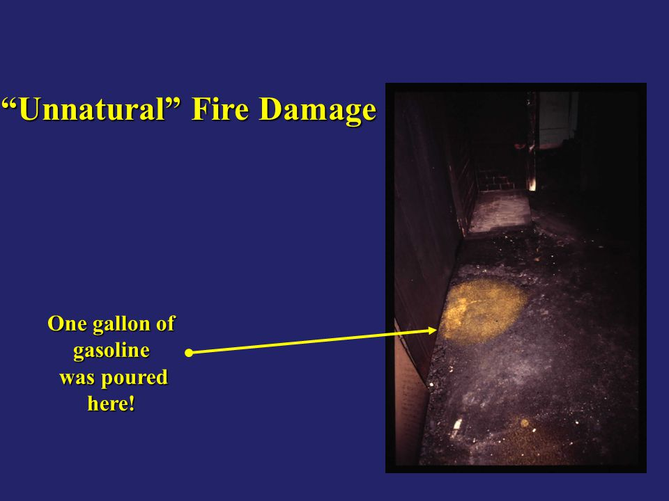 Unnatural Fire Damage