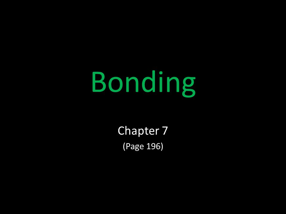 Bonding Chapter 7 (Page 196)
