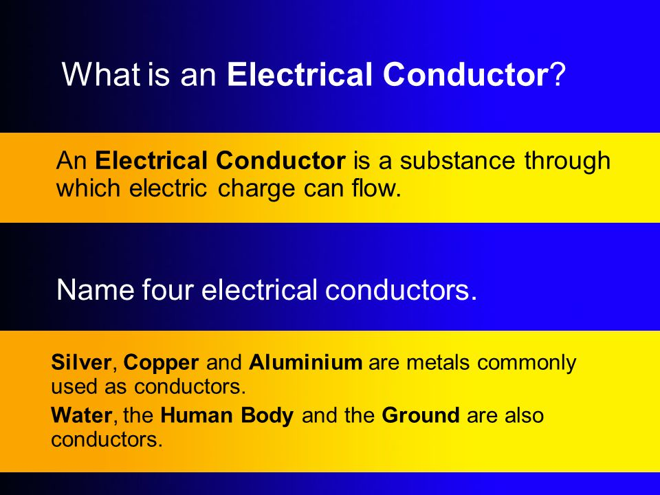 What is an Electrical Conductor