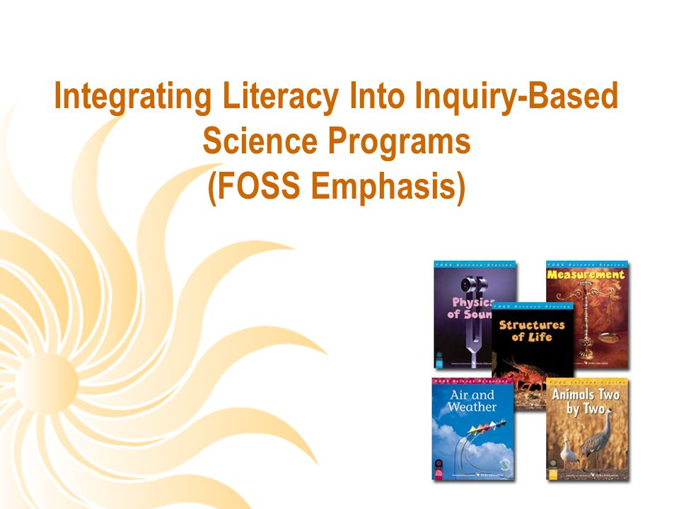 Integrating Literacy Into Inquiry-Based Science Programs (FOSS Emphasis)