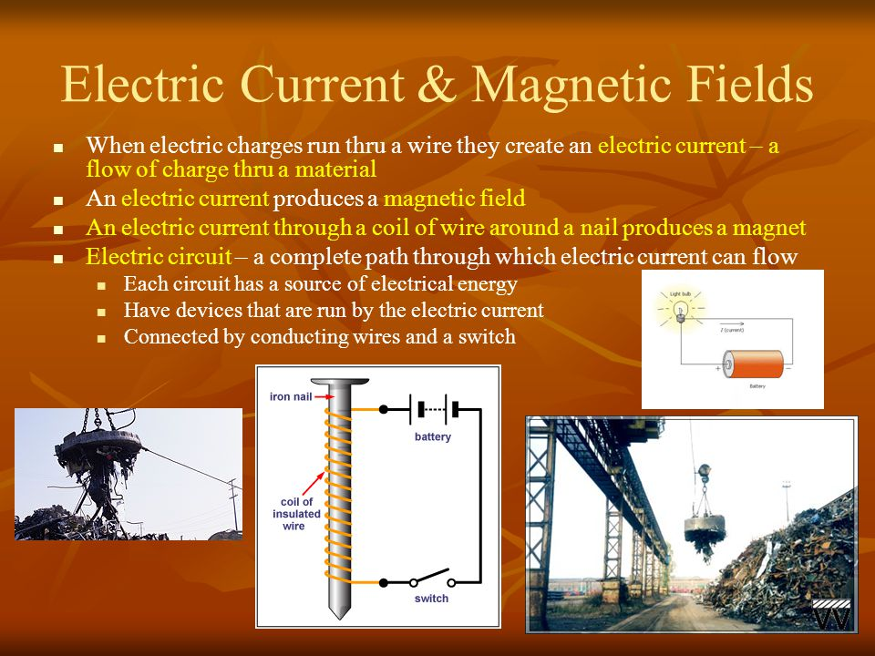 Electric Current & Magnetic Fields