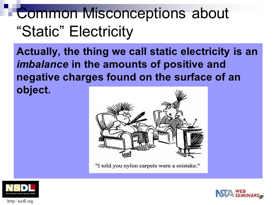 Common Misconceptions about Static Electricity