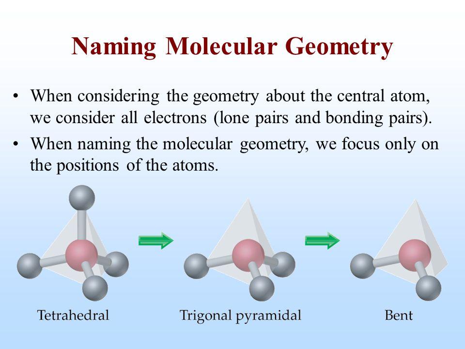 Naming Molecular Geometry