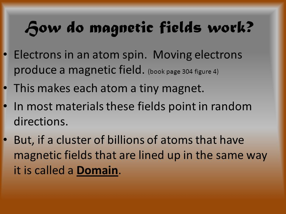 How do magnetic fields work