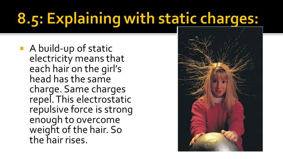 8.5: Explaining with static charges: