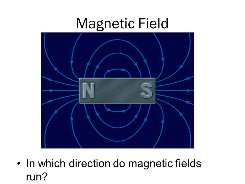 Magnetic Field In which direction do magnetic fields run
