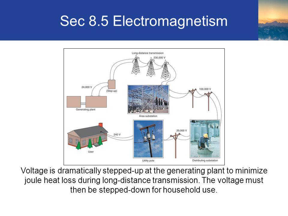Sec 8.5 Electromagnetism