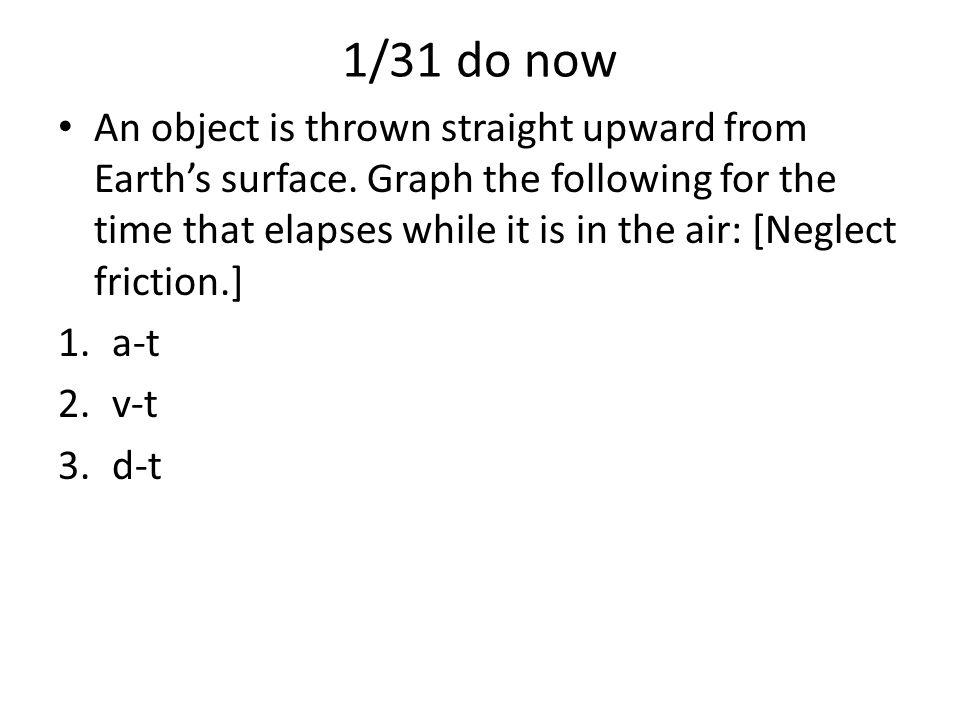 1/31 do now