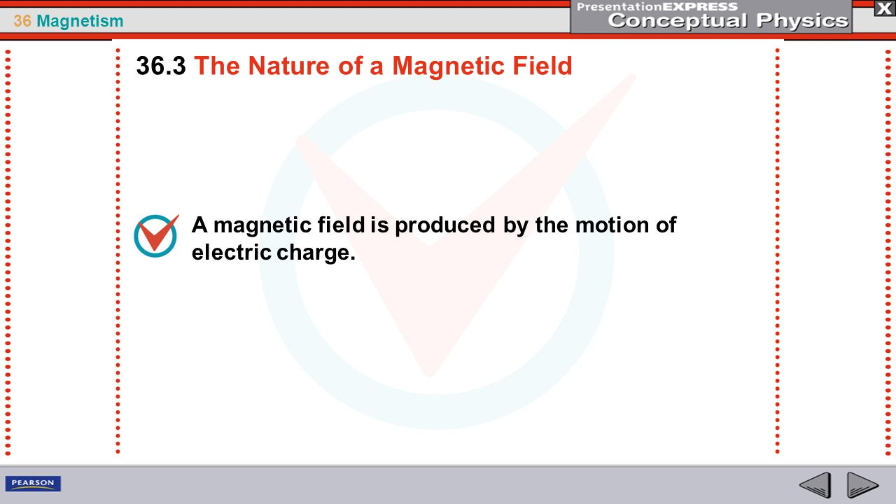 36.3 The Nature of a Magnetic Field