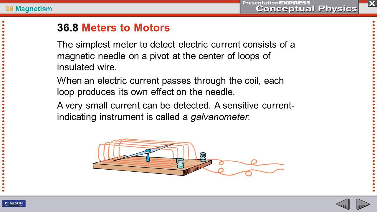 36.8 Meters to Motors