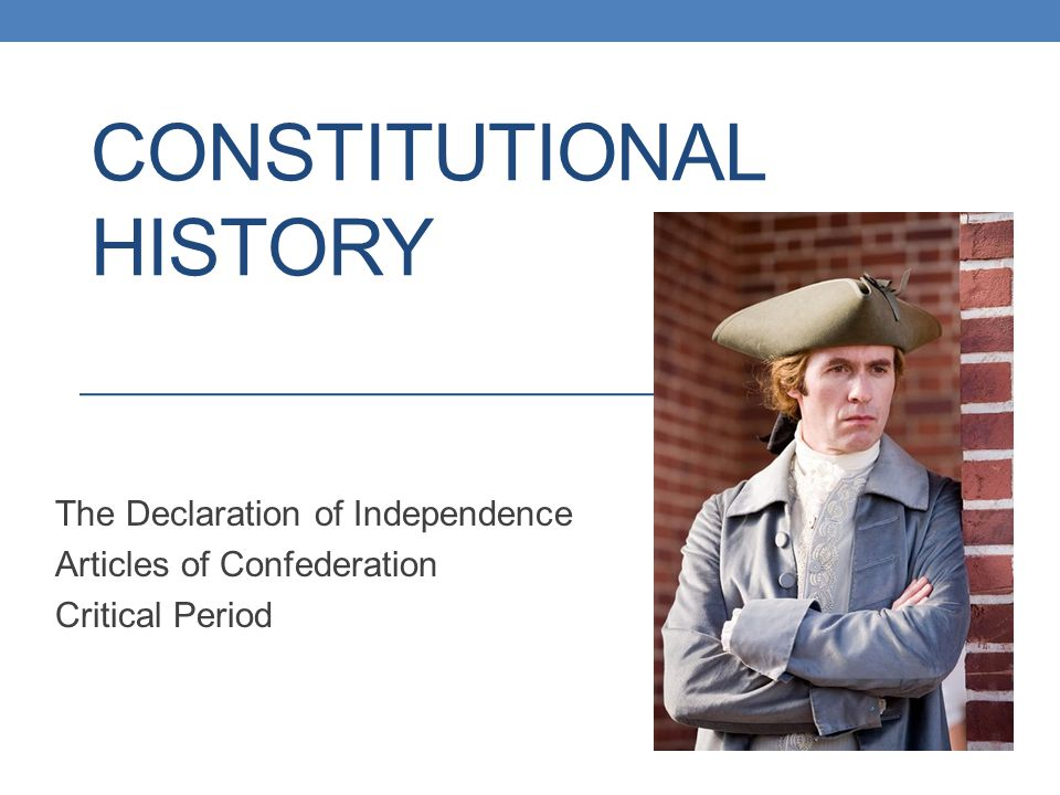 Constitutional history