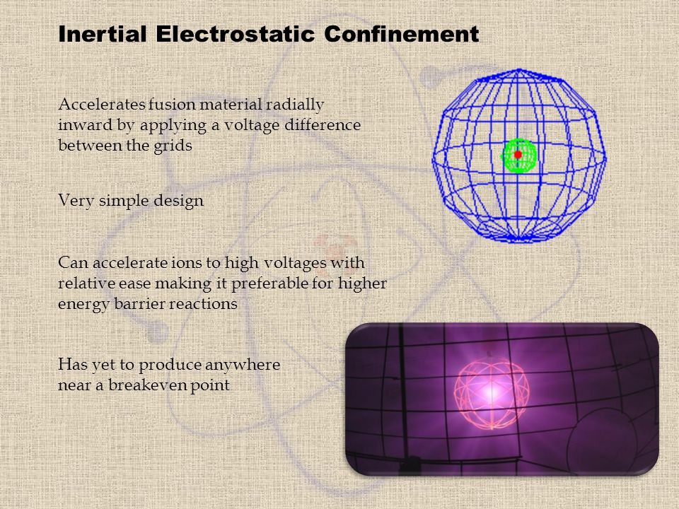 Inertial Electrostatic Confinement