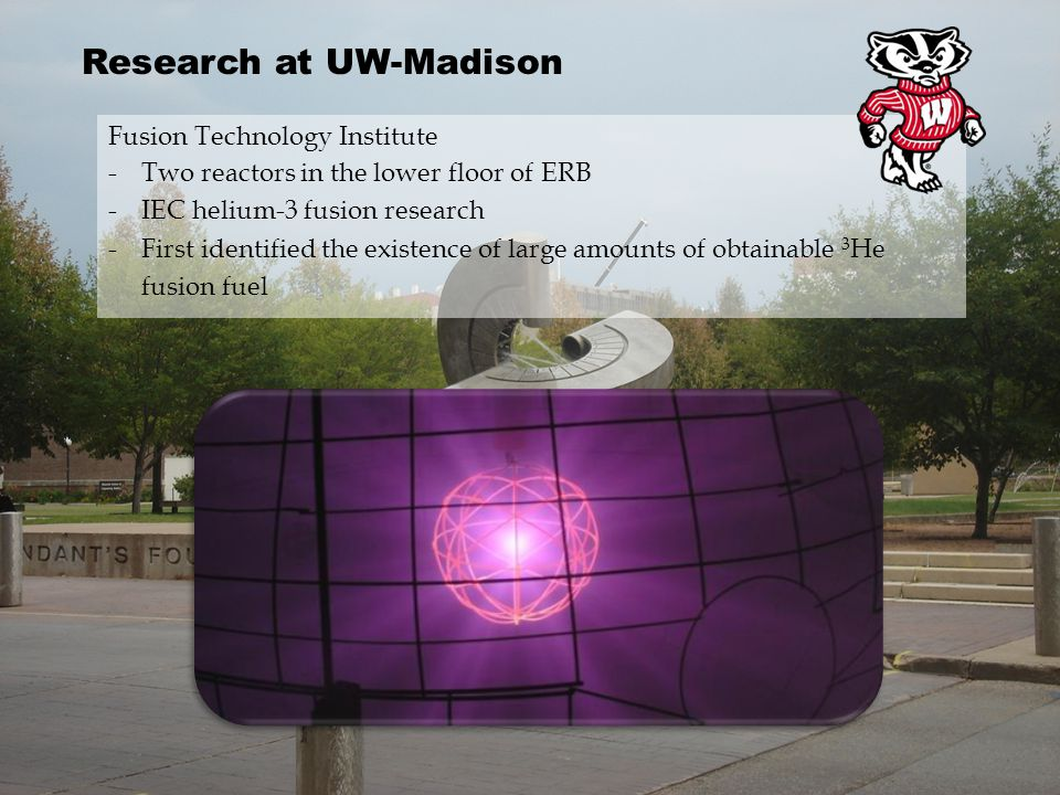 Research at UW-Madison