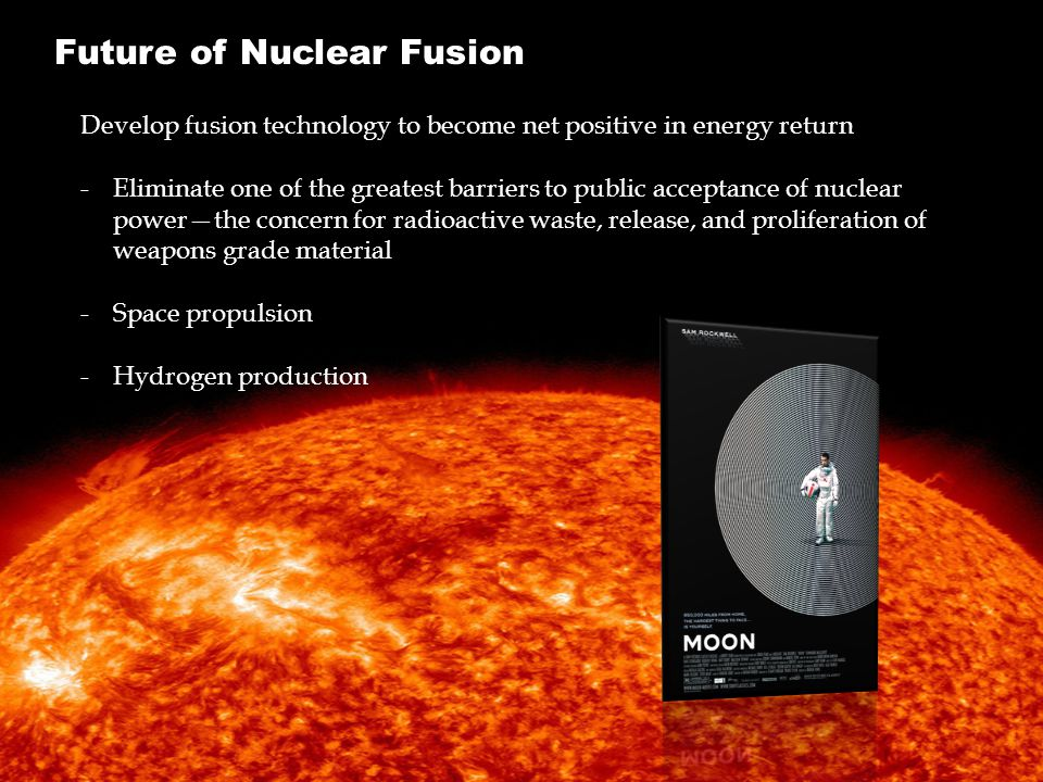 Future of Nuclear Fusion