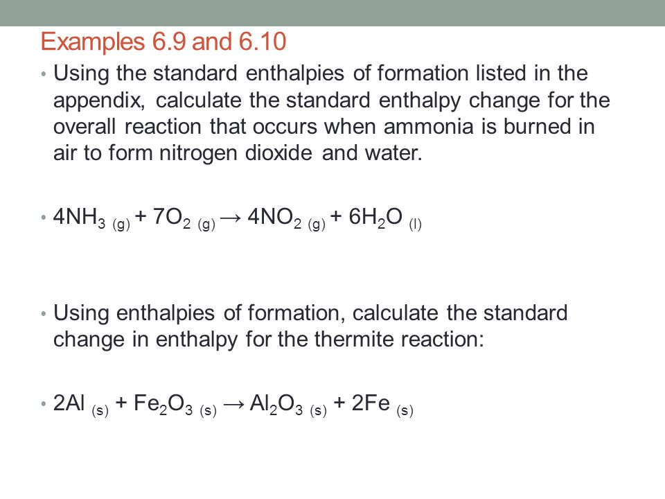 Examples 6.9 and 6.10