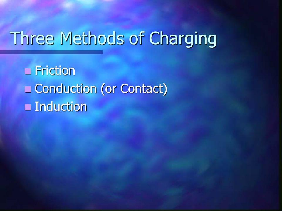 Three Methods of Charging