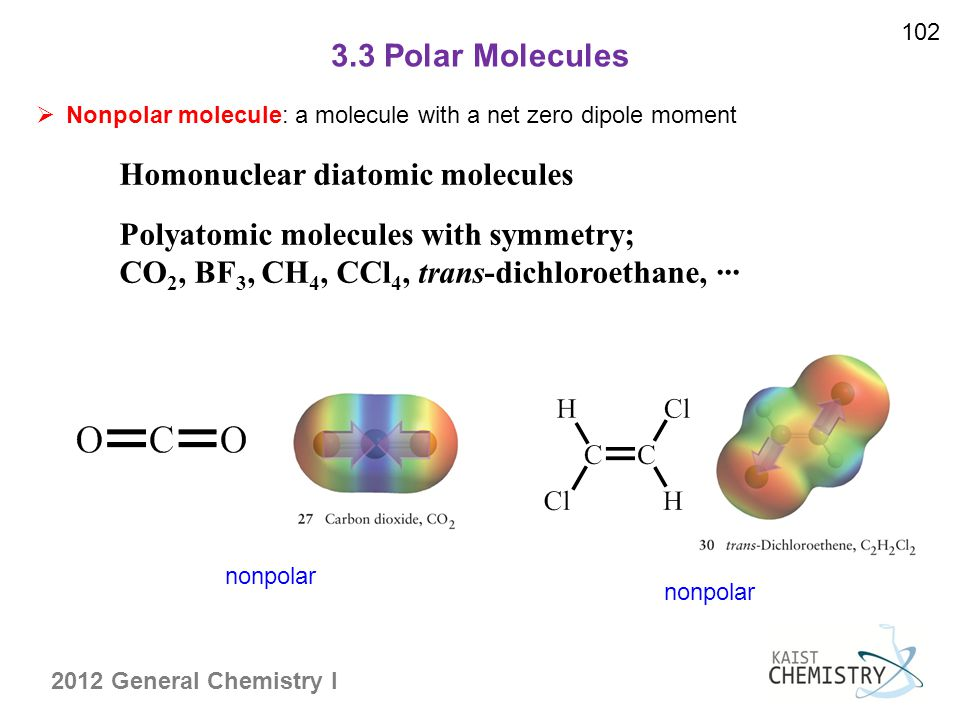 Homonuclear diatomic molecules