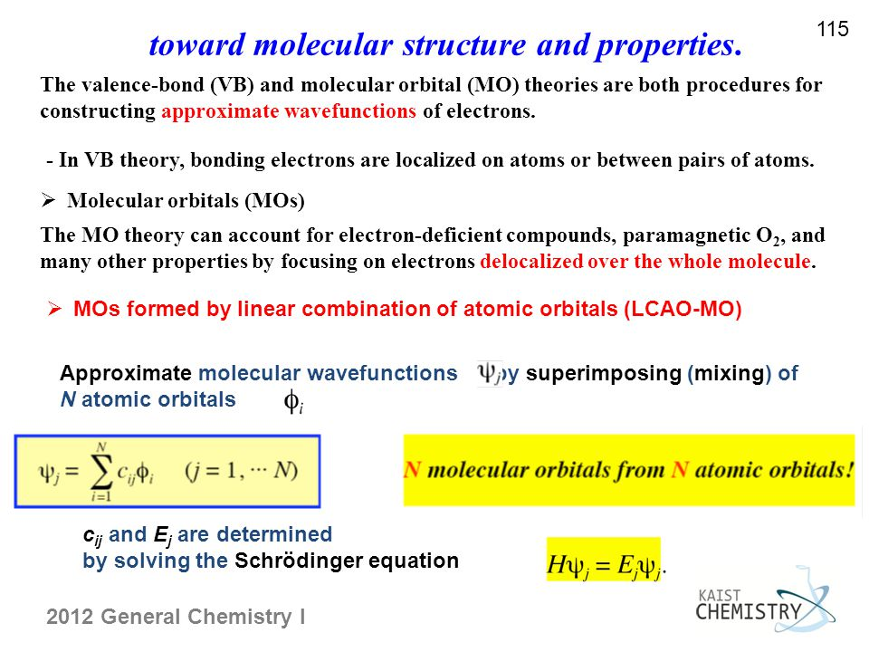 toward molecular structure and properties.