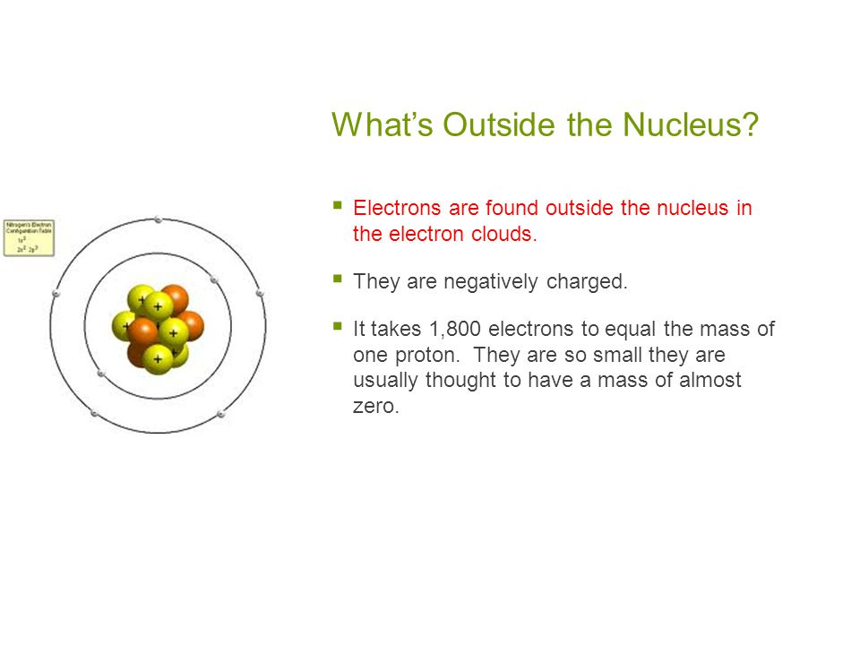 What's Outside the Nucleus