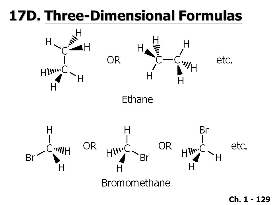 17D. Three-Dimensional Formulas