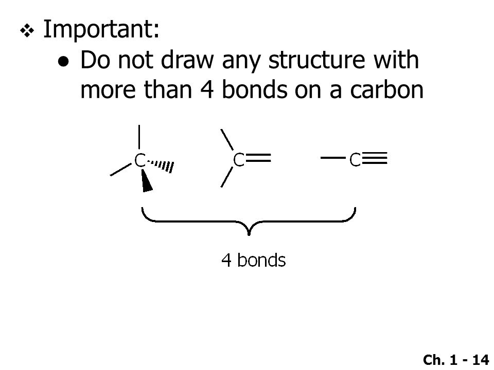 Important: Do not draw any structure with more than 4 bonds on a carbon