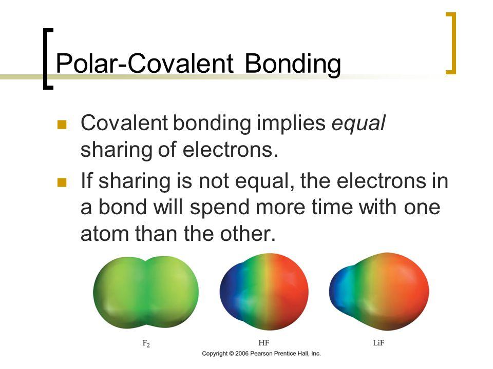 Polar-Covalent Bonding