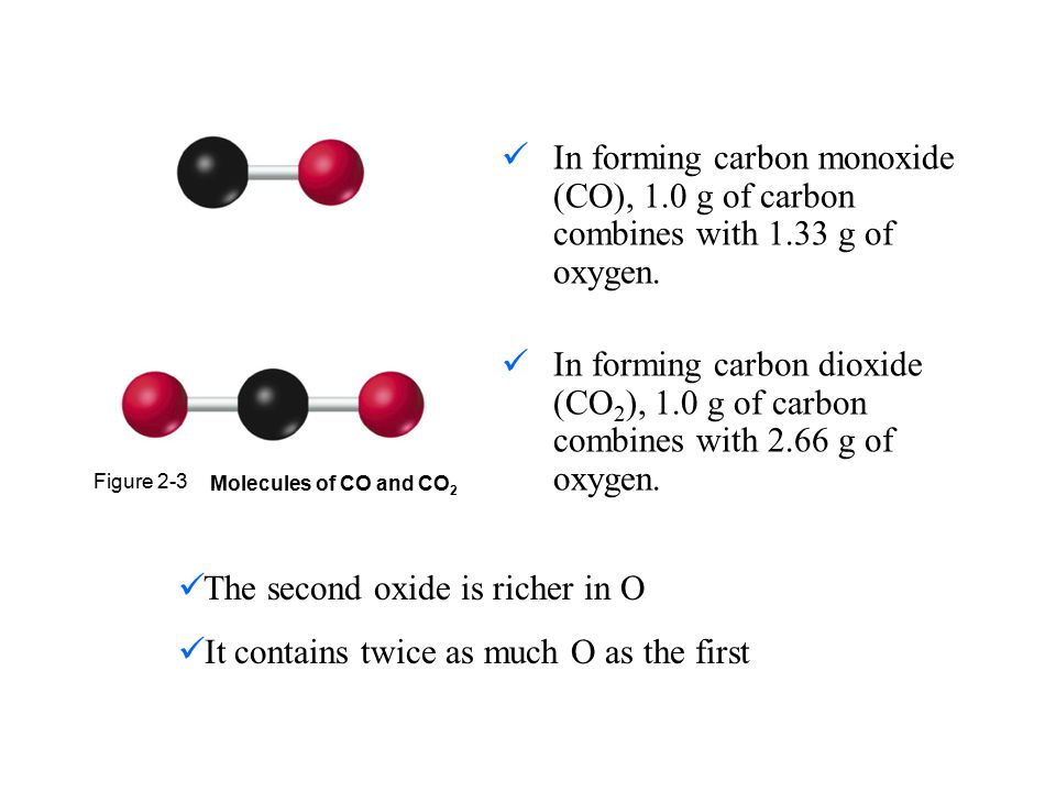 The second oxide is richer in O
