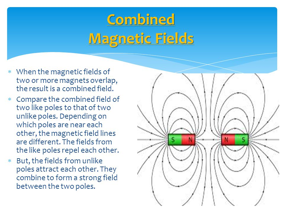 Combined Magnetic Fields