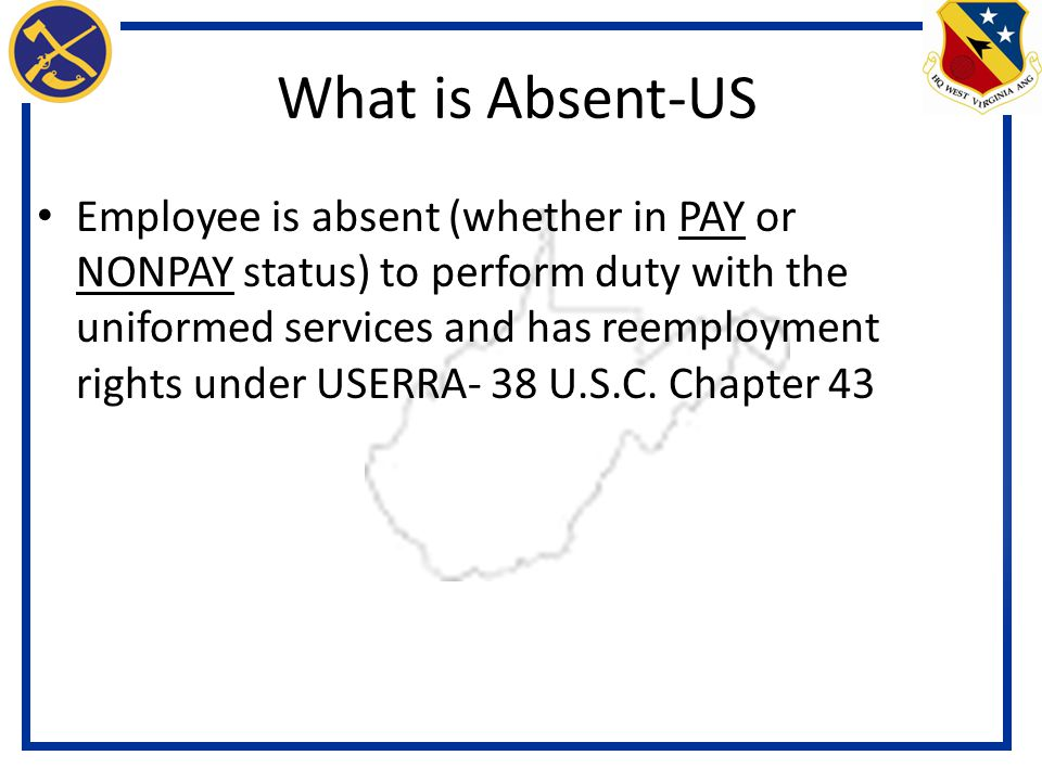 What is Absent-US