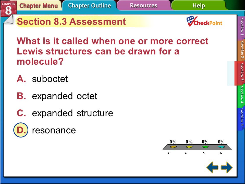 A B C D Section 8.3 Assessment