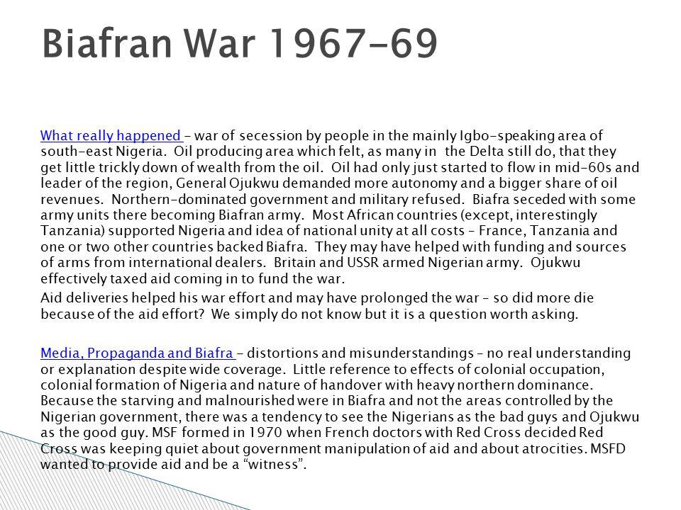 Biafran War 1967-69
