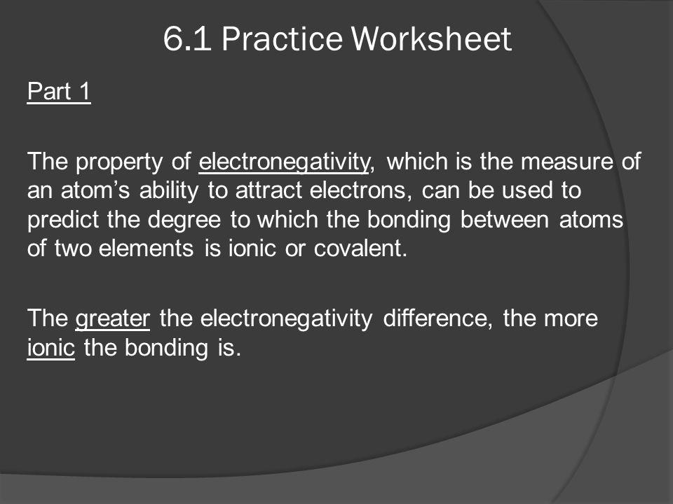 6.1 Practice Worksheet Part 1