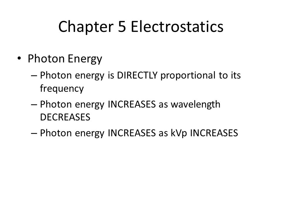 Chapter 5 Electrostatics