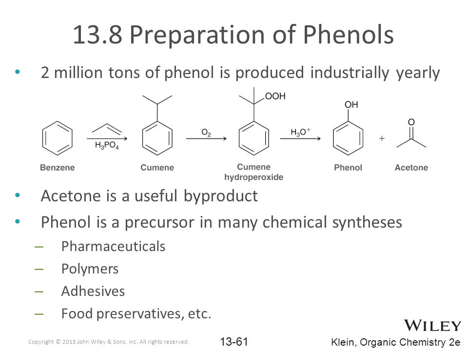 13.8 Preparation of Phenols