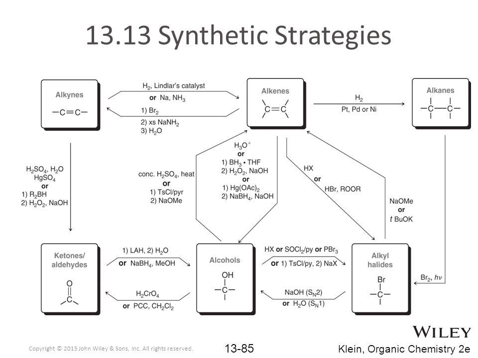 13.13 Synthetic Strategies Klein, Organic Chemistry 2e