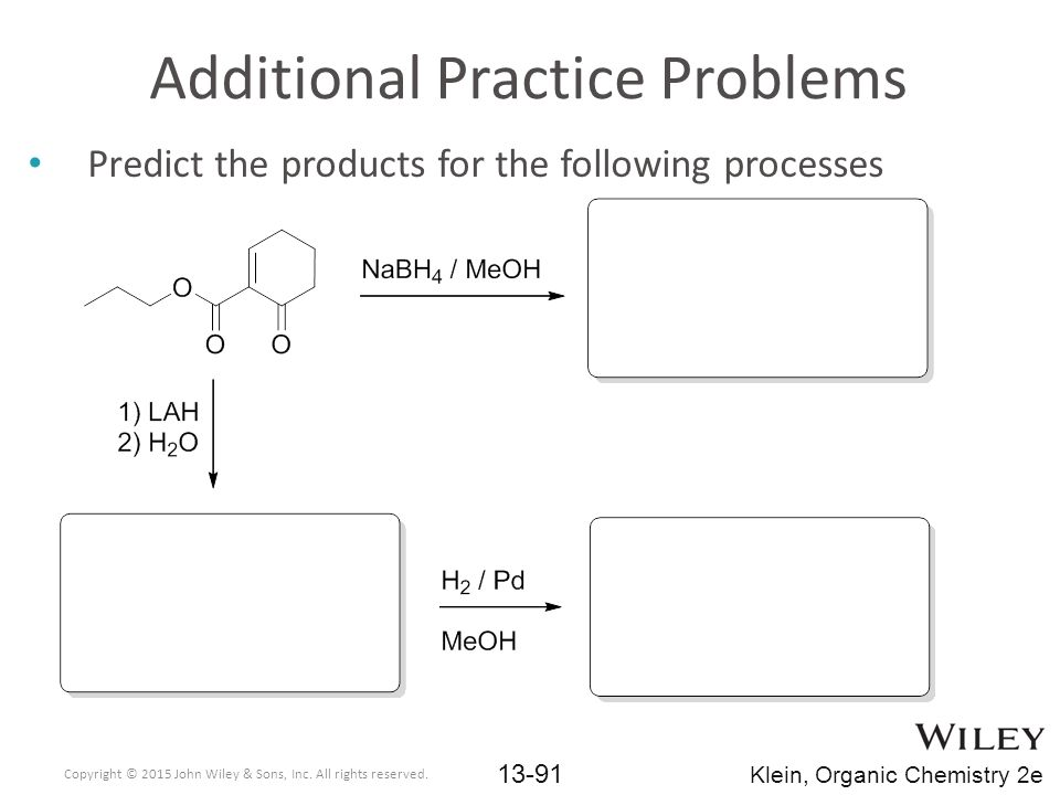 Additional Practice Problems