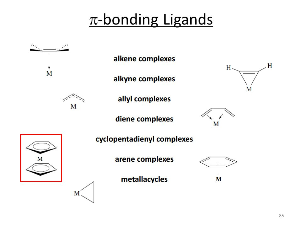 p-bonding Ligands