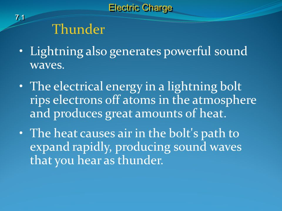 Thunder Lightning also generates powerful sound waves.