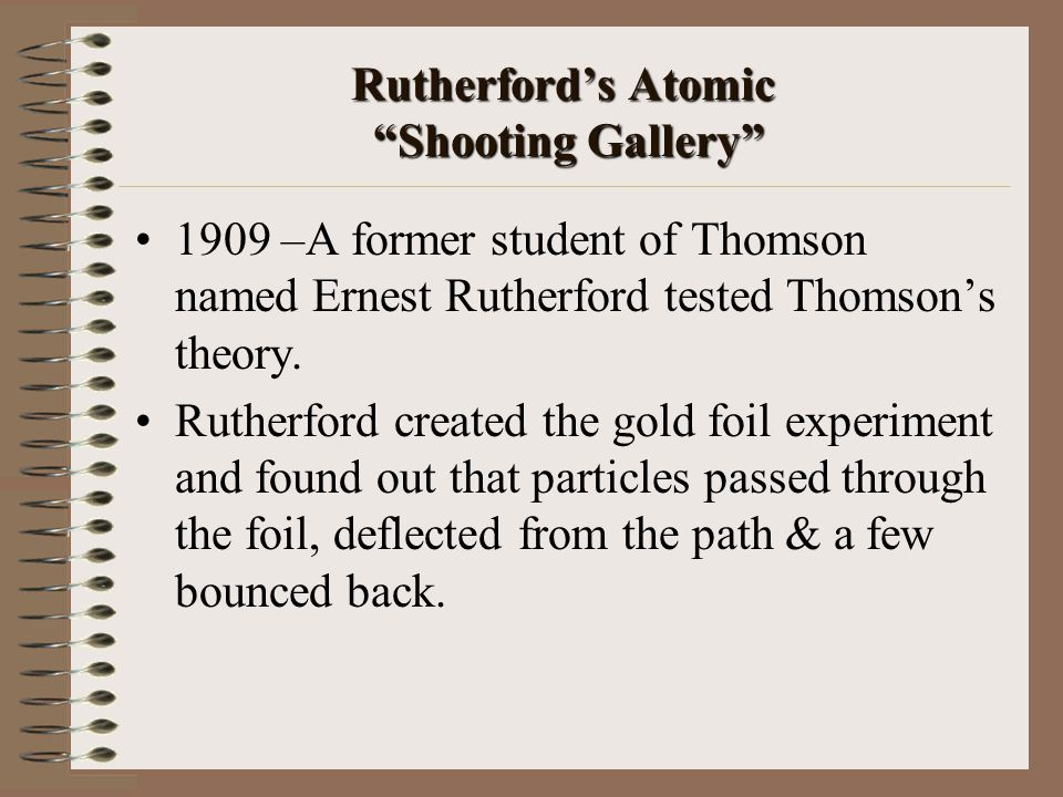 Rutherford's Atomic Shooting Gallery