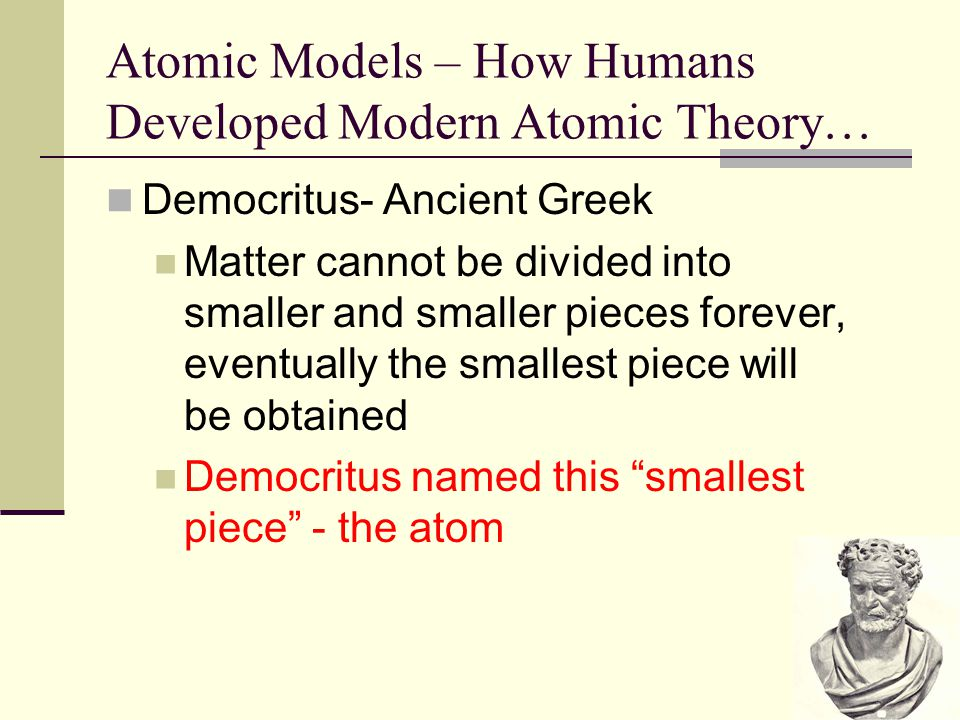 Atomic Models – How Humans Developed Modern Atomic Theory…