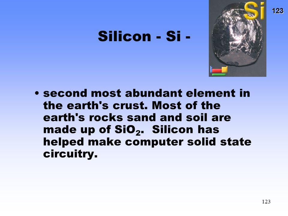 Silicon - Si -