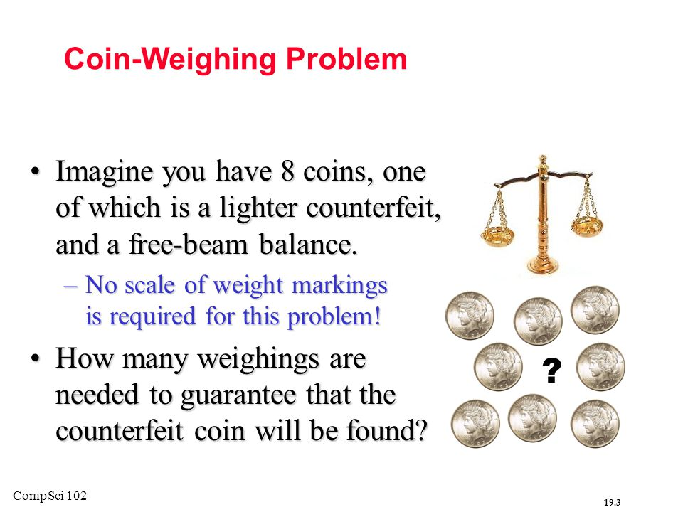 Coin-Weighing Problem