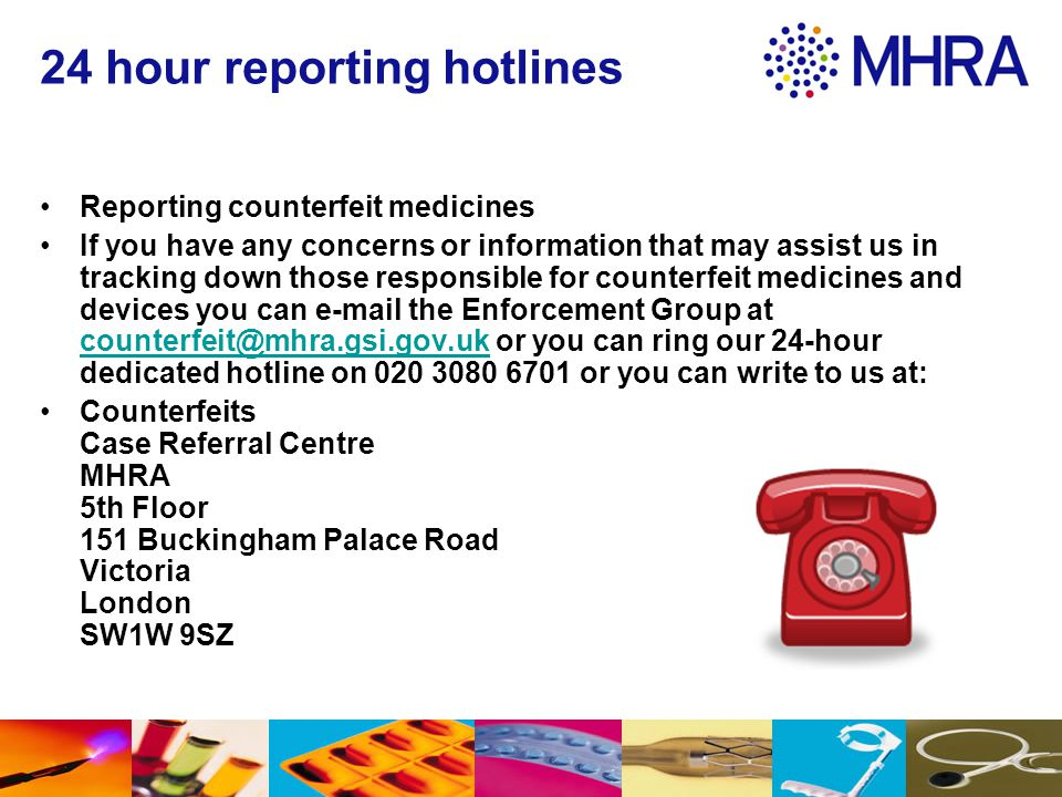 24 hour reporting hotlines