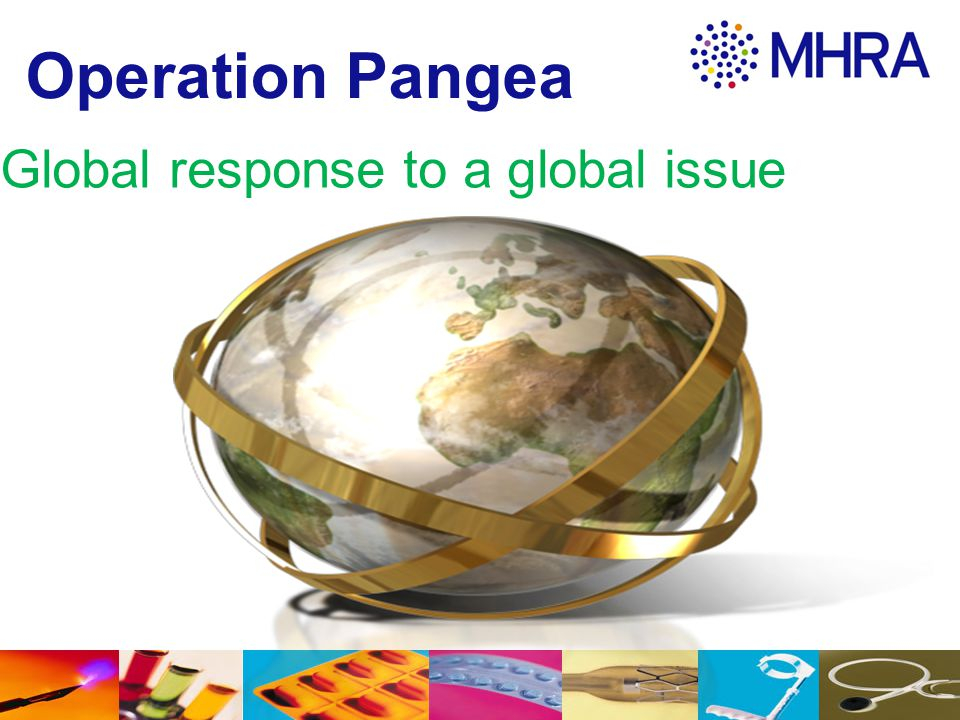 Operation Pangea Global response to a global issue 13