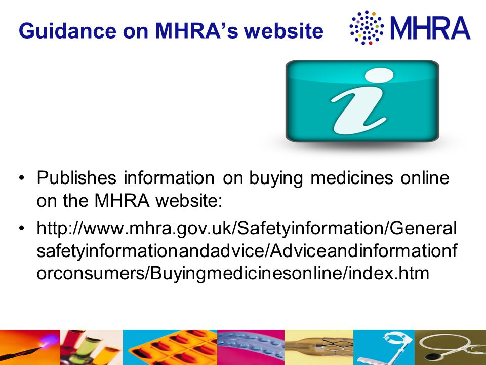 Guidance on MHRA's website