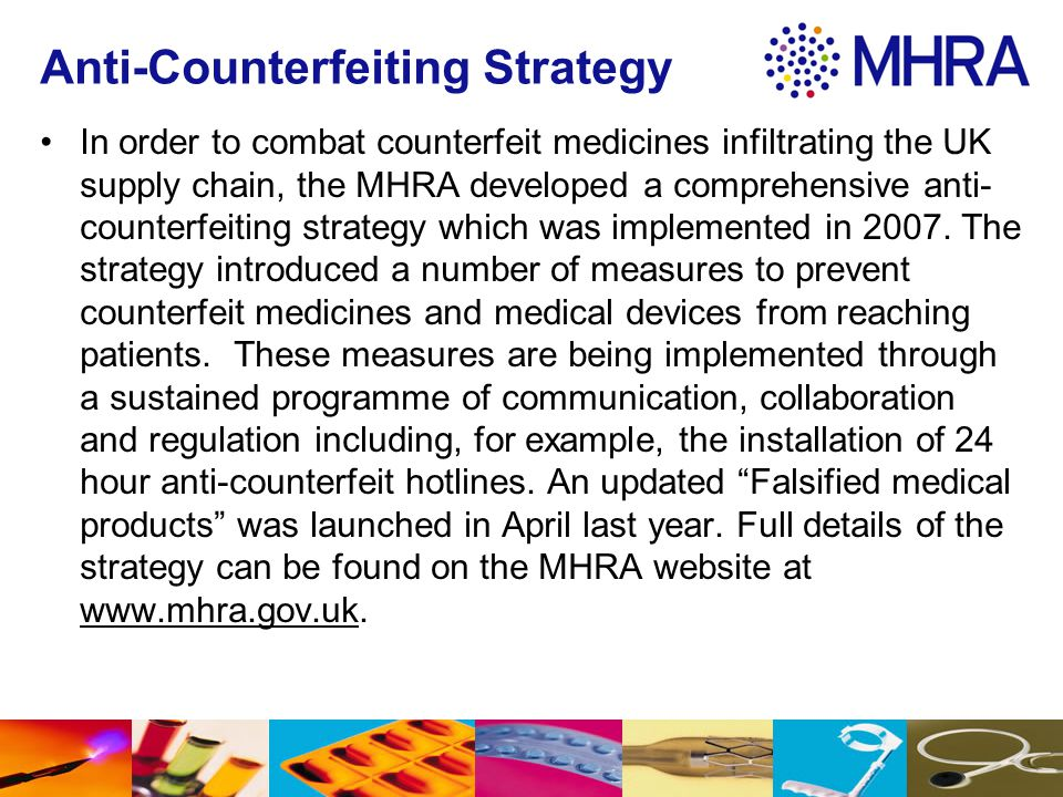 Anti-Counterfeiting Strategy