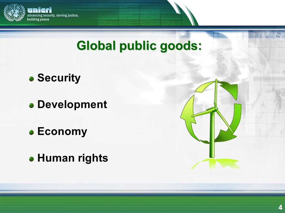 Security Development Economy Human rights